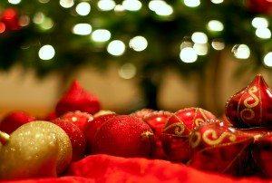 Christmas cheery presents