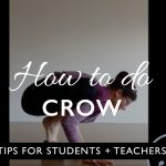 How to do crow pose (bakasana) safely
